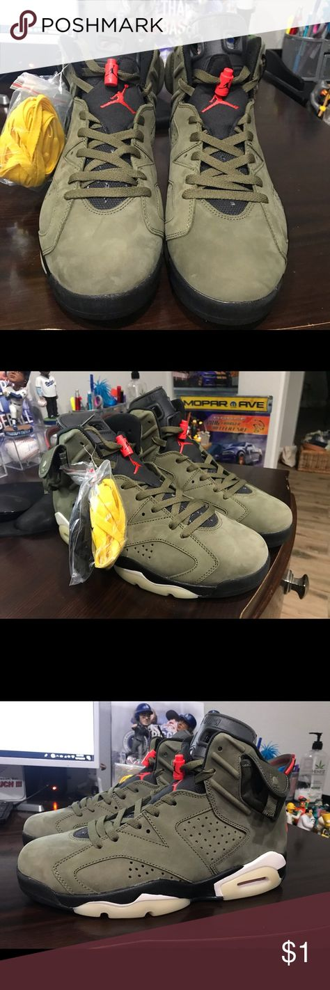 Travis Scott Jordan 6 Cactus Jack Jordan 6 Travis Scott Cactus Jack size 11 These just came in and are ready to sell, to the first person who makes a reasonable offer.. Don't sleep on these only a limited amount made. Price saids $1,000.00 but make an offer jordan Travis Scott Shoes Sneakers