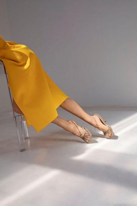 Fashion Landscape — Bottega Veneta Pre-Fall 2019 Ad by MyTheresa Shoes Editorial, Editorial Fashion, Editorial Photography, Fashion Photography, Conceptual Photography, Kimora Lee, Shoe Advertising, Spring 2015 Fashion, Fashion Fall