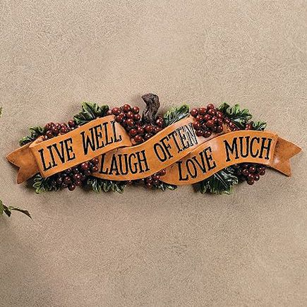 Grape Kitchen Items | Grapes Live Love Laugh Wall Sign Plaque Decor Hanging  Kitchen 16 Long | Grape Kitchen Ideas | Pinterest | Kitchens And Walls