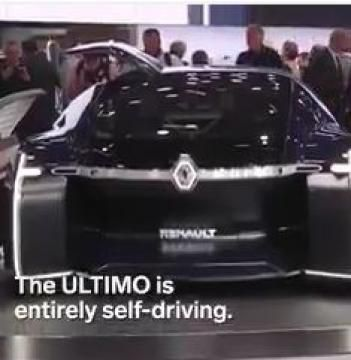 Renault Future Today Car Electriccar Futurecar Car Renault