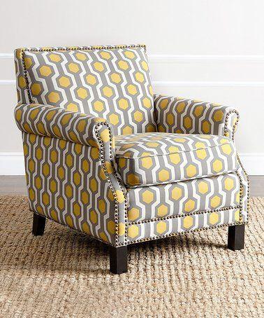 Astounding Another Great Find On Zulily Yellow Chloe Club Chair Creativecarmelina Interior Chair Design Creativecarmelinacom