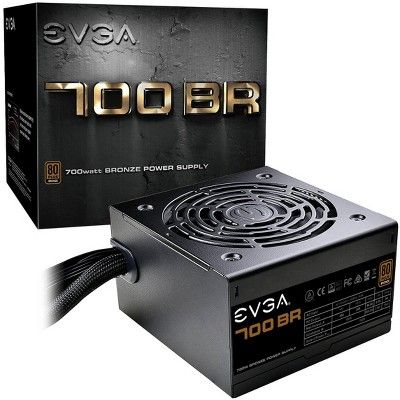 Evga 700br Power Supply Internal 120 V Ac 230 V Ac Input 700 W 5 V Dc 12 V Dc 5 V Dc 12 V Dc 3 3 V Dc 1 12v Rails 1 Fan S Computer Accessories Budget Pc Build Bronze