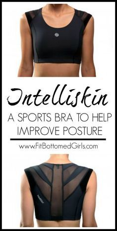 a3cb0a6141 The IntelliSkin Sports Bra is the first of its kind that supports the front  from the back. The bra corrects a woman s posture