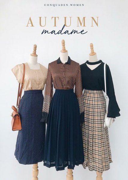 52 Ideas For Skirt Style Church Skirt Fashion Fashion Classy Skirts