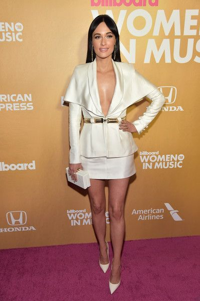 Kacey Musgraves attends Billboard's 13th Annual Women In Music Event at Pier 36.