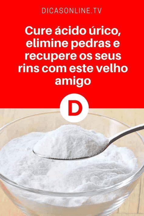 Tratamento Com Bicarbonato De Sodio Para Melhorar As Funcoes Renais Com Imagens Acido Urico Bicarbonato De Sodio Dicas De Saude