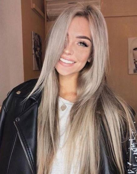 Hair Color For Fair Skin Blue Eyes Ombre Ash Blonde 65 Ideas Hair Color For Fair Skin Hair Styles Hair Looks