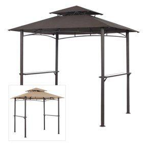 Patio Garden Grill Gazebo Gazebo Replacement Canopy Gazebo