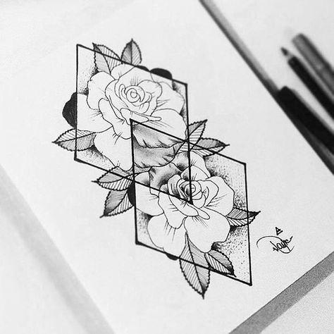 #Sketch #Design #Illustration Black and white #ProductDesign Flower Font Cart