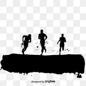 People Running Fast Sprinter Running Fast Character Png Transparent Clipart Image And Psd File For Free Download Running Silhouette People Png Silhouette People