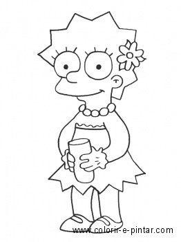 Riscos 2 De Monique Mel Desenho Dos Simpsons Desenhos De Rostos