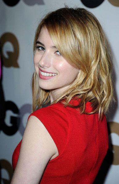 298393ea8e3 List of Pinterest emma roberts haircut bangs pictures   Pinterest ...
