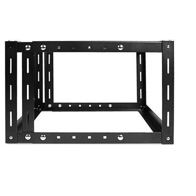 Monoprice 6u Adjustable Wall Mount Server Cabinet 800mm With 1u Supporting Tray Gsa Approved Fits Most Rack Mount Chassis And Equipment Server Cabinet Wall Mount Wall Mount Rack