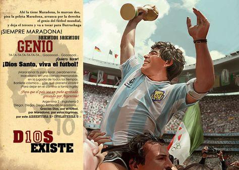 Diego Armando Maradona. D10S