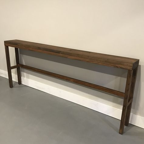 Excited To Share This Item From My Etsy Shop Long Console Table Narrow Console Table Skinny Console T Table Behind Couch Behind Sofa Table Diy Sofa Table