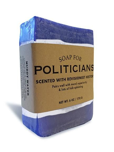 Scented with revisionist history. Whaaaat? No politician in recent or distant memoryhas ever rewritten their past statements, actions or beliefs. Post it on Tw
