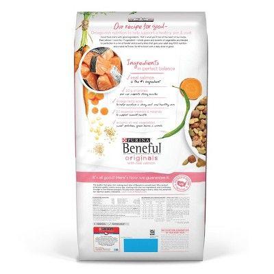 Purina Beneful Originals Real Salmon Dry Dog Food 31 1lbs Size
