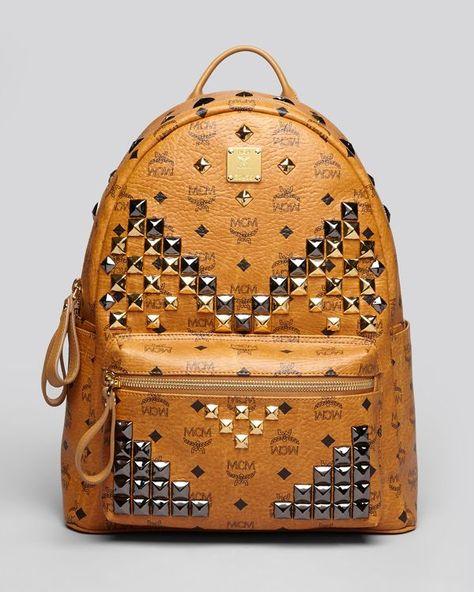 Mcm Backpack - Stark M Stud Medium
