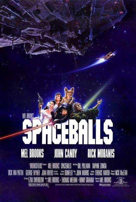 Spaceballs 27x40 Movie Poster (1987)