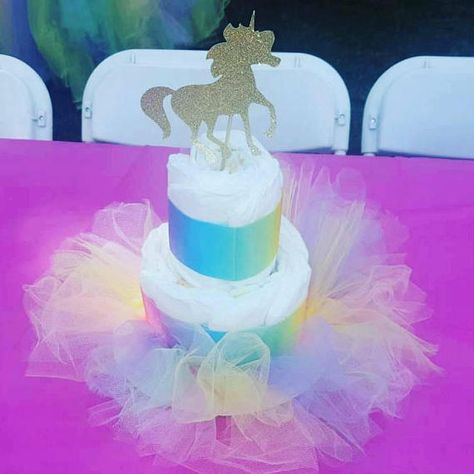 Unicorn Themed Baby Shower Party Favors And Decorations Unicorn