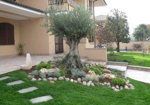Foto Di Giardini Con Sassi.Decorare Il Giardino Con I Sassi Idee Fai Da Te Foto 38 40
