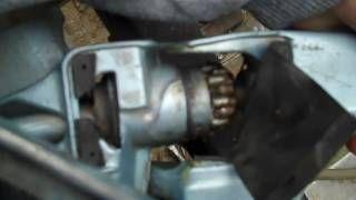 Fix Tiller Handle On 15hp Evinrude Tiller Handle Trolling Motor