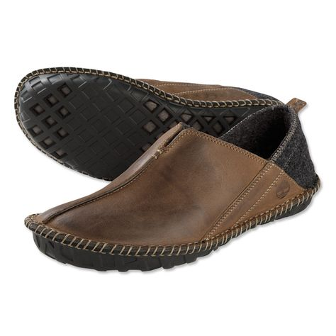 69dbf2e9d3ceb Just found this Indoor-Outdoor Leather Slippers for Men - Indoor-Outdoor  Slippers -- Orvis on Orvis.com!