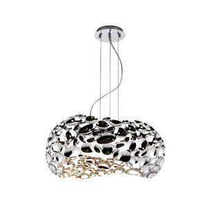 Ebern Designs Ungewohnliche Pendelleuchte 5 Flammig Nesbit Wayfair De Pendelleuchte Geometrisch Lampen