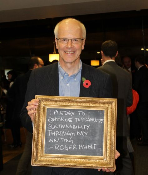 Roger Hunt pledges to support the#Fit4Future network with his writing - thanks, Roger! @huntwriter