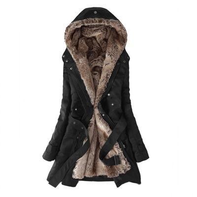 Faux Fur Lined Coat, Ladies Winter Coats Fur Lined