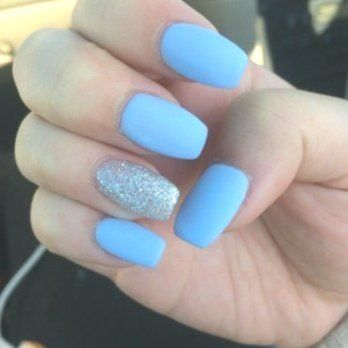 12 Acrylic Nails Square Blue 56 Must Try Trendy And Gorgeous Light Blue Sky Blue Nails Designs In Fa Blue Acrylic Nails Light Blue Nails Winter Nails Acrylic