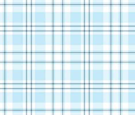 Light Blue Plaid Pattern