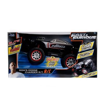 Fast Furious Elite Off Road R C 1970 Dodge Charger With Light Up Logo Dodge Charger Jada Toys Fast And Furious