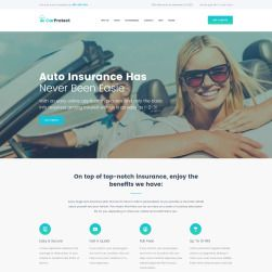 Car Protect Auto Insurance Wpml Ready Wordpress Template 62490 Wordpress Theme