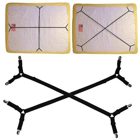 Bed Sheet Fastener Adjustable Holder Straps For A Smooth Mattress Adjustable Mattress Pad Duvet Cover Bed Sheet Corner Holder E Adjustable Mattress