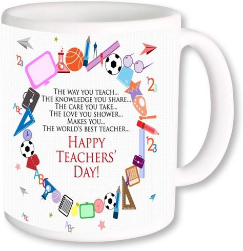 PhotogiftsIndia Best Gift For Teacher On Happy Teachers Day Ceramic Mug