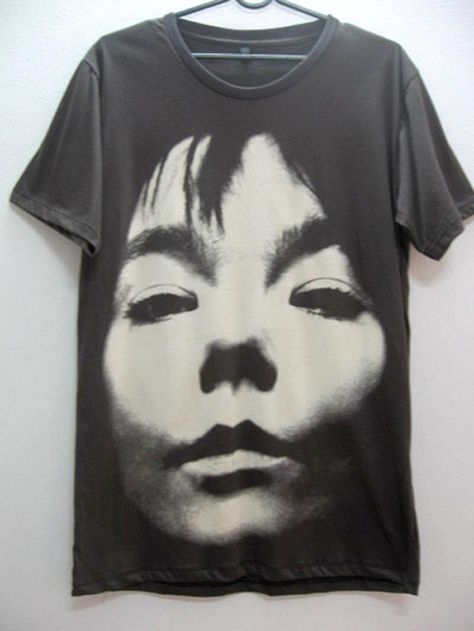 Bjork Sugar Cubes Indie Punk Rock TShirt M by synthesize on Etsy