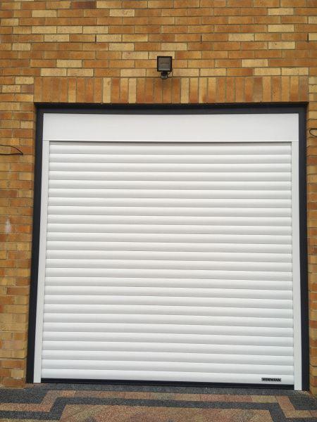 Hormann Rollmatic Garage Door White Swr Redefining Homes