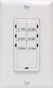GE Push Button Digital In-Wall Countdown Timer - Timer Wall Switch - Amazon.com