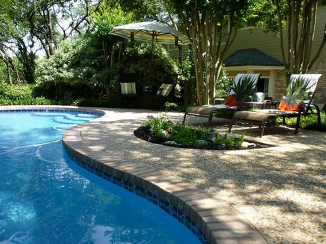 27 Pool Landscaping On A Budget Homesthetics Ideas Swimming Pool Designs Pool Designs Pool Landscaping