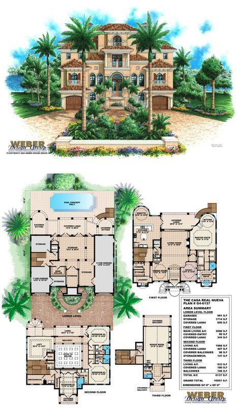 Mediterranean House Plan Mediterranean Tuscan Beach Home Floor Plan Mediterranean House Plan Mansion Floor Plan Mediterranean House Plans