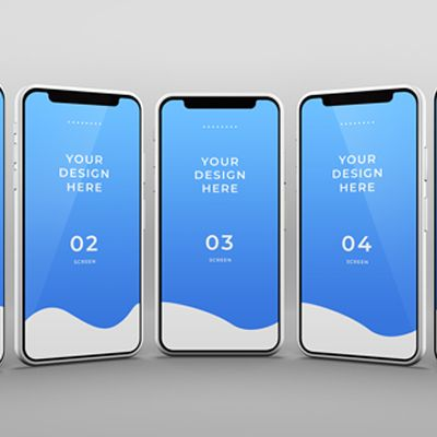Phone Mockup With Editable Wall High Resolution Psd Mobile App Mockup Psd Free Download For App Presentation Smart Object Fe Phone Mockup Iphone Mockup Phone