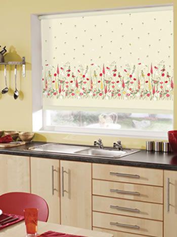 Roller Blinds For Kitchen Windows