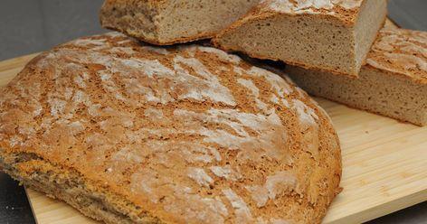 Finskt rågbröd med surdeg | Recept | Recept, Matrecept, Mat
