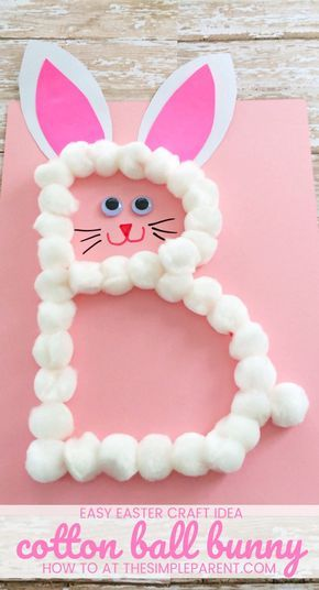 Easter Bunny Craft This Preschool Letter B Craft Is Perfect For