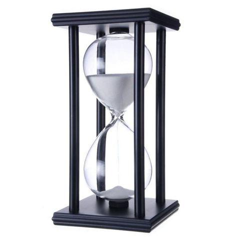 Wooden Frame Sandglass Sanduhr Sand Timer Uhr Home Decor