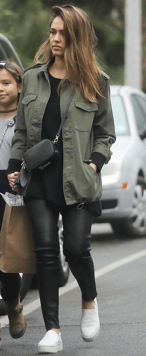 Jessica Alba's Stylish $40 Jacket Is Still Available