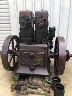 Twin Cylinder Lister Cs 122 Diesel Vintage Stationary