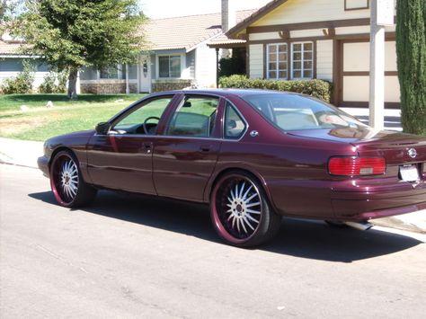 96 Chevy Impala H Chevy Impala Impala Dream Cars
