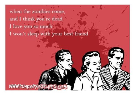 Who Needs Chocolates And Bears For Valentines Day When You Can Have Brains  And Zombies. | Love And Comedy | Pinterest | Walking Dead, Someecards And E  Cards